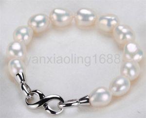 男女兼用アクセサリー, ブレスレット  whtie1011mm75 925whtie freshwater cultured 1011mm pearl bracelet 75 925 silver clasp