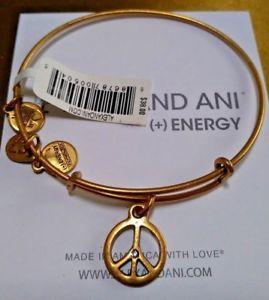 男女兼用アクセサリー, ブレスレット  3d walex and ani energy 3d world peace russian gold color bracelet wtag