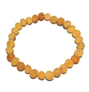 男女兼用アクセサリー, ブレスレット  adult bees knees genuine raw honey baltic amber stretch bracelet love amber x uk