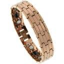 【送料無料】ブレスレットアクセサリ?タングステンカーバイドバーリンクローズゴールドカラーブレスレットtungsten carbide bar links rose gold color magnetic bracelet