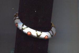 男女兼用アクセサリー, ブレスレット  kenneth lane coral white cabochonkenneth lane coral white cabochon bracelet