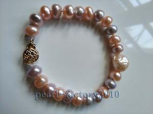【送料無料】ブレスレット アクセサリ— aaa 1285mm south sea natural pink purple pearlブレスレット14k claspaaa 1285mm south sea natural pink purple pearl bracelet 14k c