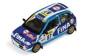 【送料無料】模型車 スポーツカー スバルラリーモンテカルロバルト143 subaru vivio rxr fina rally monte carlo 1999 jbarth
