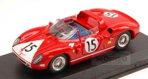 【送料無料】模型車 スポーツカー フェラーリ330p15ルマン1964ロドリゲスハドソン143モデルart148 moferrari 330 p 15 retired le mans 1964 rodriguezhudson 143 art model art148 mo