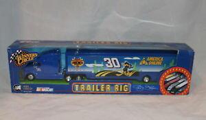 【送料無料】模型車 スポーツカー #トレーラーアメリカオンラインwinners circle nascar 30 trailer rig america online画像