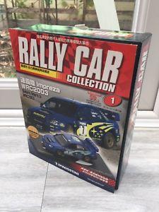 車・バイク, レーシングカー  subaru impresza wrc 2003 143 rally car collection 1 chinese magazine deagostini