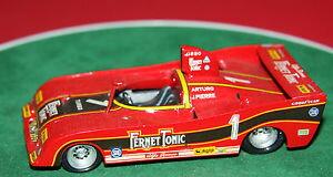 【送料無料】模型車 スポーツカー アルファロメオホワイトメタルモデルhand built 143 fds alfa romeo tipo t 33 sc 12 1977 merzario white metal model