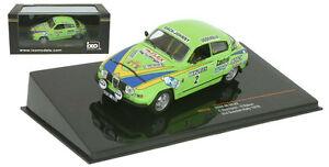 【送料無料】模型車 スポーツカー ネットワークサーブ#スウェーデンラリースケールixo rac236 saab 96 v4 2 2nd swedish rally 1976 stig blomqvist 143 scale