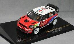 【送料無料】模型車 スポーツカー ネットワークミニジョンクーパーモンテカルロラリーカンパーナデカステリixo mini john cooper works monte carlo rally 2012 campana amp; de castelli ram487