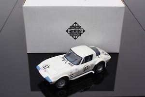 車・バイク, レーシングカー  chevrolet corvette gspenske hallroad america 1963exoto 118 rlg18021