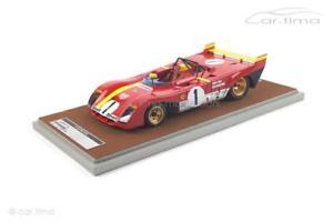 【送料無料】模型車 スポーツカー フェラーリ312 pb 1000kmモンツァ1972イクスレガッツォーニ100 tecnomodel1