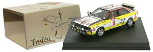【送料無料】模型車 スポーツカー trofeu 1630アウディquattro a28サファリ1984スティーグblomqvist 143trofeu 1630 audi quattro a2 8 safari rally 1984 stig blomqvist 143 s