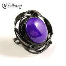 【送料無料】猫 キャット リング qiyufangペンダントブドウqiyufang purple stone pendant handmade men jewelry vintage