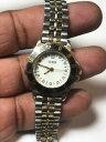 【送料無料】腕時計 レディースデュアルトーンアナログウォッチladies dual tone guess analog watch