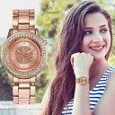 【送料無料】腕時計 ファッションステンレススチールストラップレディースカジュアルfashion women watches luxury stainless steel strap quartz watch ladies casual