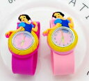 【送料無料】腕時計 プリンセスクォーツマンガウォッチchildren students cute princess slap quartz watch snow white girl cartoon bir