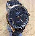 【送料無料】腕時計 アナログクォーツウォッチメンズゴールドトーンブラックバッテリー