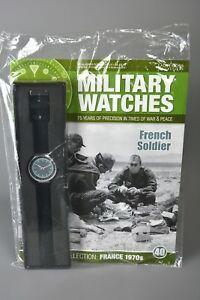 腕時計, 男女兼用腕時計  ramp;l mag sealed eaglemoss military watches 40 french soldier 1970s