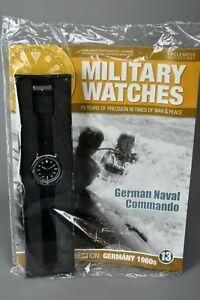 腕時計, 男女兼用腕時計  ramp;l mag sealed eaglemoss military watches 13 german naval commando 1960s