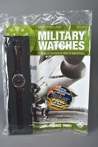 腕時計, メンズ腕時計  ramp;l mag sealed eaglemoss military watches 36 french naval navy pilot 1960s