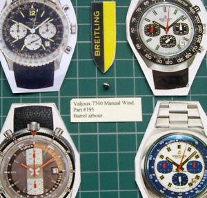 腕時計, 男女兼用腕時計  part 195 arbor for barrel 70s vintage breitling heuer valjoux 7740 chronograph