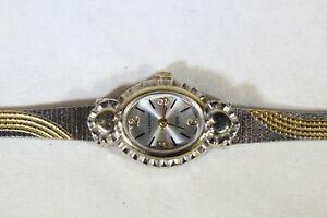 腕時計, 男女兼用腕時計  beautiful claremont gold silver tone stainless steel watch wristwatch 56022