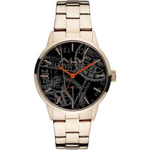 腕時計, 男女兼用腕時計  orologio alv by alviero martini alv0008 bracciale acciaio ros nero