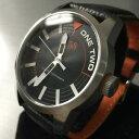 【送料無料】腕時計 メンズヒューゴボスオレンジブラックホワイトレザースチールデザイナー