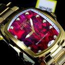 【送料無料】腕時計 スチールグランドパープルアワビスペシャルエディションウォッチinvicta grand lupah purple abalone gold plated steel special edition watch