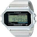 【送料無料】腕時計 メンズデジタルステンレススチールクオーツtimex mens classics t78587 digital stainlesssteel quartz watch water resistant