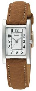 腕時計, 男女兼用腕時計  pulsar ladies leather strap watch pc3163x1pnp