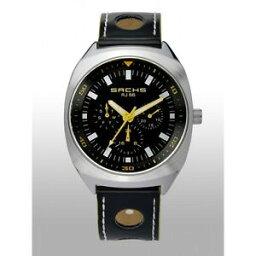 【送料無料】腕時計 サックスクロノグラフタイプシルバーマットブラックラリーoriginal sachs chronograph typ rj 66 silber mattschwarz signalgelb rallyedesign