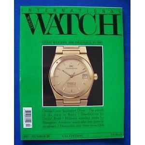 【Free Shipping】 Wristwatch #American Edition Engineer international wrist watch magazine 1993 20 usa edition the ingenieur by iwc