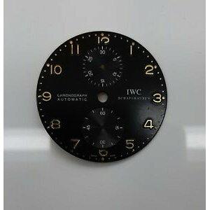[Free shipping] Watch chronograph cadran iwc portugaise chronographe