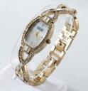 【送料無料】腕時計 スワロフスキーゴールドトーンパールクリスタルウォッチbadgley mischka ba1378mpgb goldtone swarovski mofpearl crystal watch nwt