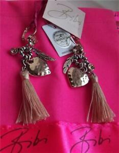 男女兼用アクセサリー, ネックレス・ペンダント  bibi bijoux de plata y oro plateado con borla encantos swarovski cristal pendientes nueva