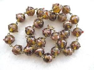 【送料無料】アクセサリー ネックレスコレクションベネチアンガラスシェードリンクネックレスde coleccin rstico tonos vidrio veneciano amp; aventurina vinculado collar 18