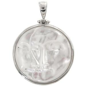 【送料無料】アクセサリー ネックレスバリペンダント2 handcrafted bali luna y sol diosa ncar colgante de plata de ley