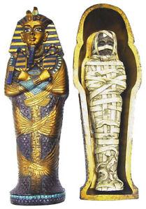 男女兼用アクセサリー, ネックレス・ペンダント  sarcofago con mummia egiziana idea regalo colore dorato blu