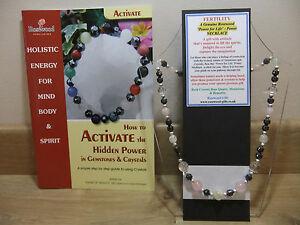 【送料無料】アクセサリー ネックレス ホリスティックインチネックレスla fertilit un olistico handmade 18 pollici esoterico gemstone collana pi un libro