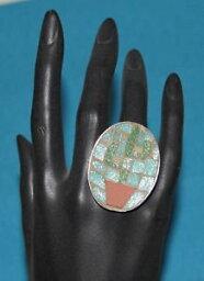 【送料無料】アクセサリー ネックレス アルジェントbague plaqu argent et mosaque signe chaize taille unique anneau ouvert