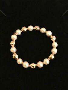 男女兼用アクセサリー, ネックレス・ペンダント  perlaviva da designer italiano milor argento 925bronzo placcato perla bracciale