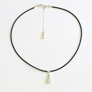 男女兼用アクセサリー, ネックレス・ペンダント  natural white light opal 112ct pendant sterling silver handmade in australia