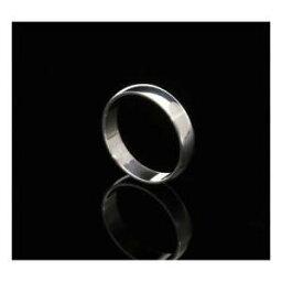 【送料無料】ネックレス ホワイトゴールド9ct white gold 4mm d shape wedding ring
