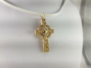 男女兼用アクセサリー, ネックレス・ペンダント  9ctstunning 9ct gold cross pendant