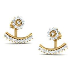【送料無料】ネックレス レディースイエローゴールドイヤリングhallmarked ladies real 9ct yellow gold amp; dazzling cz gemstone jewelry earrings
