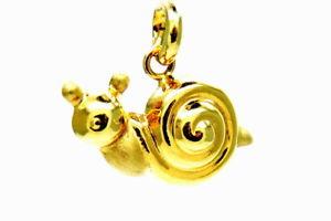 【送料無料】ネックレス イエローゴールドペンダントカタツムリyellow gold pendant 18kt 7501000 snail