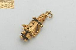 【送料無料】ネックレス very rare vintage hm 14ct gold 3d movableclown charm 582gvery rare vintage hm 14ct gold 3d movable clown charm 582 g