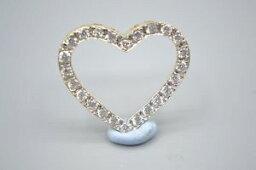 【送料無料】ネックレス 9ctゴールドczペンダント9ct gold cz heart pendant
