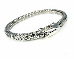 【送料無料】ネックレス レディーススターリングシルバーバリスネークブレスレットladies sterling silver balinese snake bracelet chunky 9 23 cm